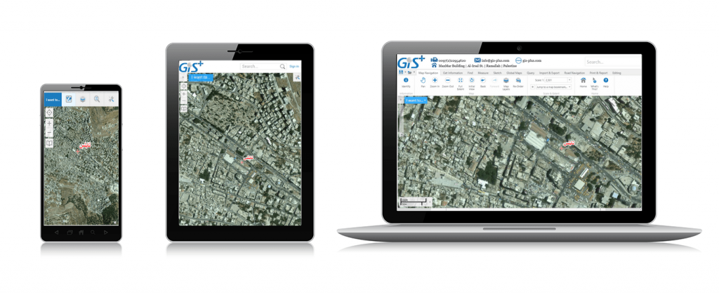 One GIS App for all devices